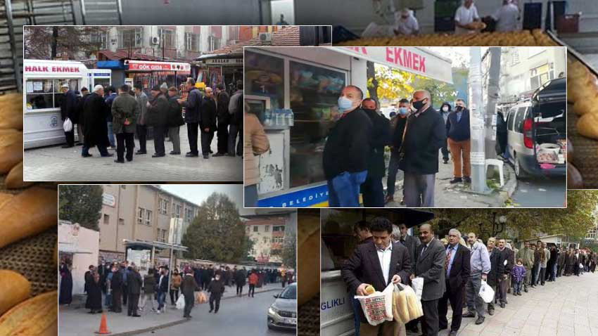 İstanbul'da ucuz ekmek kuyrukları uzuyor! 1 TL'lik ekmek tartışması büyüyor