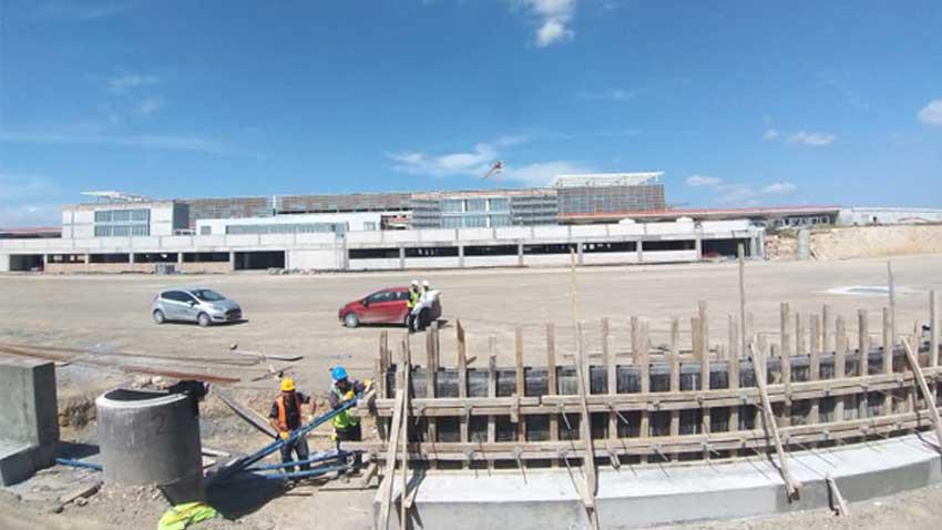 KKTC'de Ercan Havalimanı'ndan 6 kat büyük yeni terminal için sona gelindi