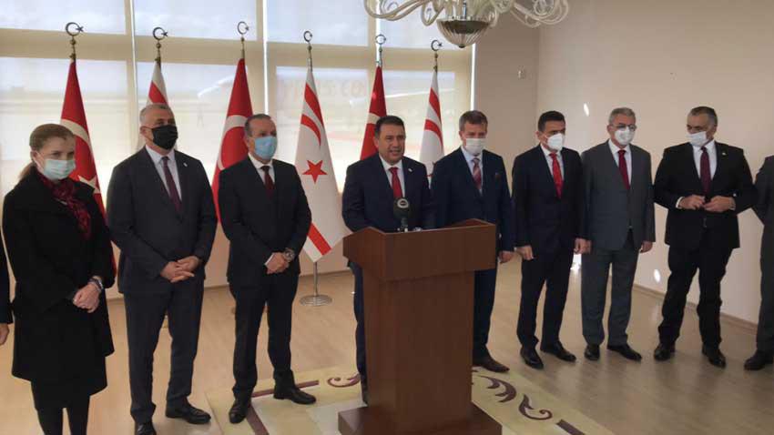 KKTC bütçesinin yüzde 30'u Türkiye'den! Başbakan Saner rakamı açıkladı...