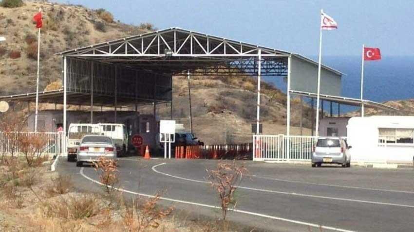 Yeşilırmak Sınır Kapısı'nda Rum provokasyonu! Lojistiği konvoyuna engel