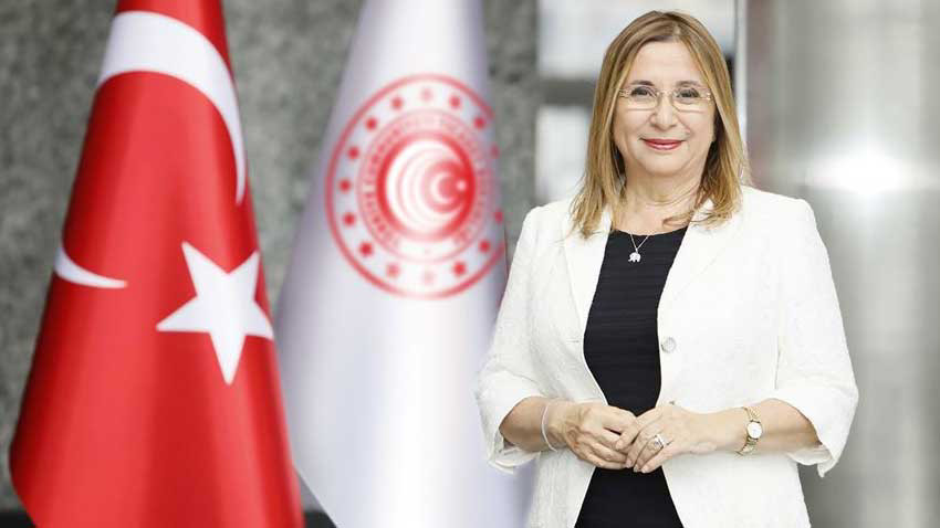 Türkiye Ticaret Bakanı Ruhsar Pekcan ve ticari heyet bugün KKTC'de