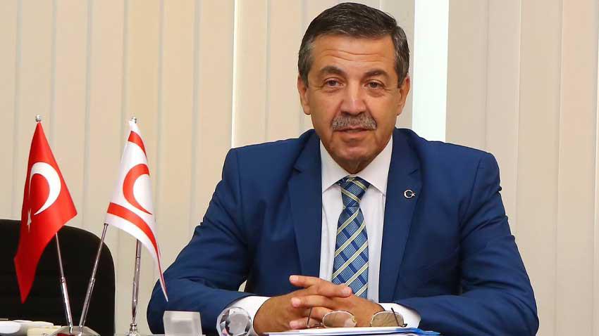Rum provokasyonuna KKTC Dışişleri Bakanı'ndan uyarı: Anlaşmalara uymazsanız karşılık veririz!