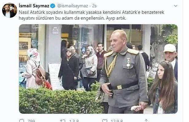 Atatürk'e benzeyen adama tepkiler artıyor! - Sayfa 4