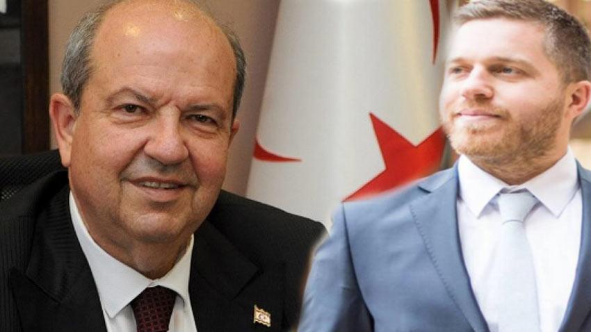 Cumhurbaşkanlığı seçiminde Tatar'ı destekleyen Denktaş