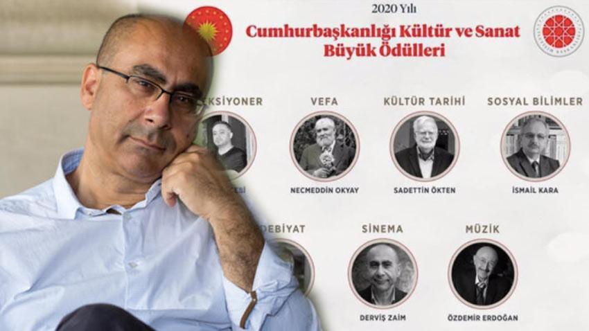 Derviş Zaim kültür sanat büyük ödülünü almaya gitmedi! Neden?