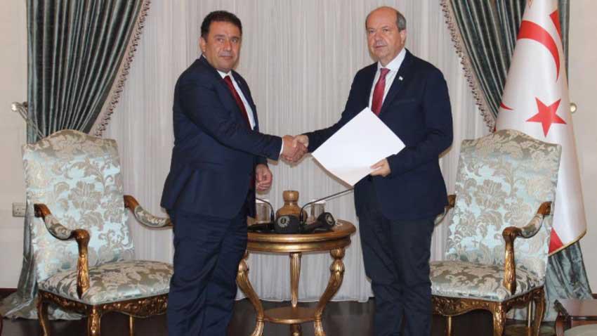 Hükümet kurulamadı Saner görevi iade etti! Cumhurbaşkanı Tatar