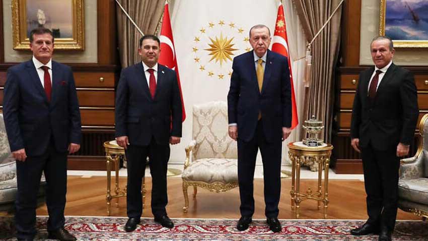 Başbakan Saner Ankara ziyaretini tamamladı! 800 milyon TL'yi aldı geldi
