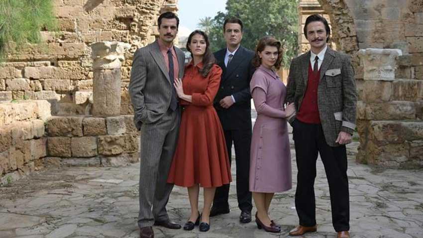 Bir Zamanlar Kıbrıs'ta dizisinden ilk kareler geldi... Dizinin konusu ne?