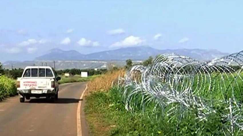 Güney Kıbrıs Rum Yönetimi sınıra dikenli tel çekiyor! Kendi halkı da siyasileri de tepkili